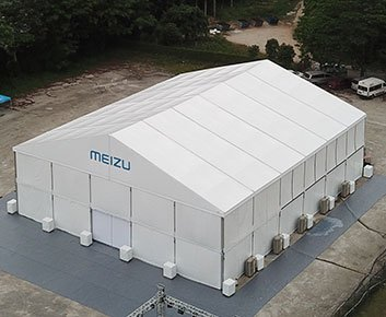 Semi permanent Marquee Conference Center 1