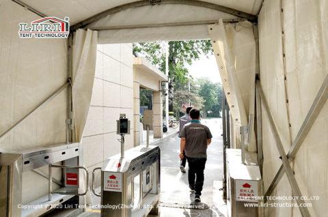Tent for Coronavirus Testing Center