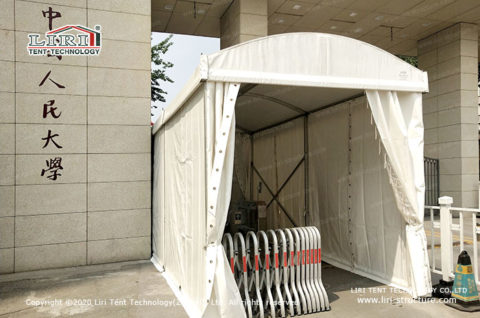 disinfection tents for market goers