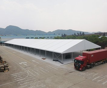 Aluminum Warehouse Canopy