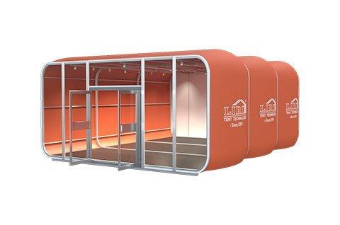 Modular Capsule House 3D