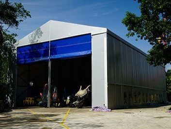 Commercial Storage Tents
