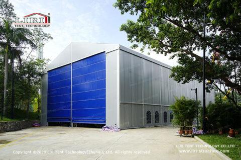Fabric Warehouse Storage Tents