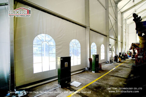 Fabric Warehouse Storage Tents to Cover