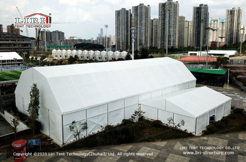 Indoor Badminton Court Building