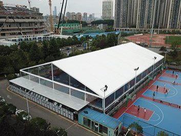 Indoor Basketball Court Tent 2