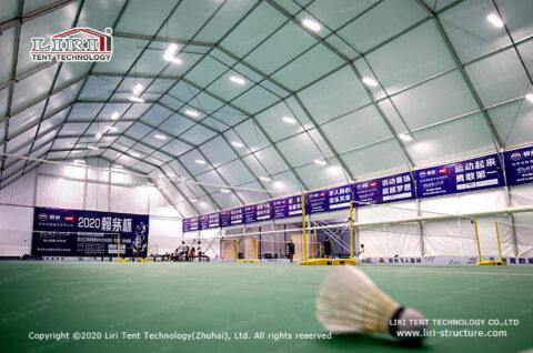 indoor badminton court construction