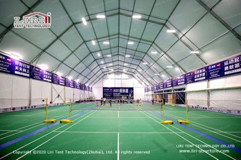 indoor badminton court cost