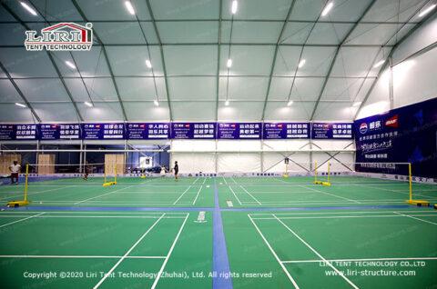 indoor badminton court design