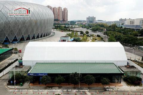indoor badminton court tent