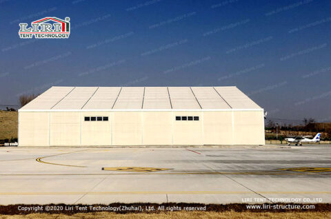 Drone aircraft hangar