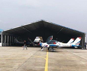 Military Hangar Building