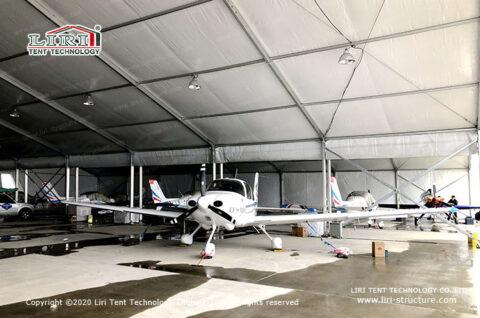 Temporary Aircraft Hangars