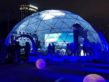 Clear Dome Tent for Car Exhibition Show