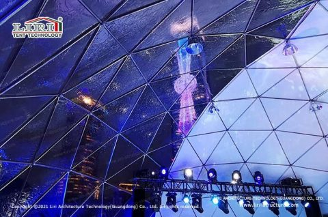 Luxury Transparent Party Event Geodesic Dome Tent