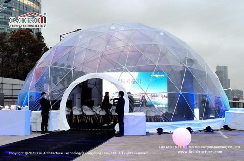 Transparent Igloo Tent Clear Dome Tent