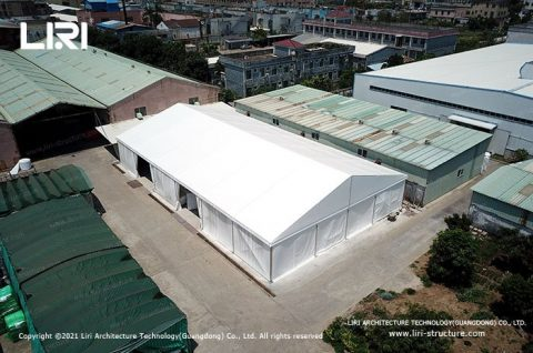 20x20 Marquee for Temporary Warehouse