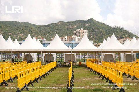 COVID 19 screening tents