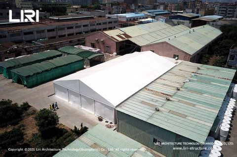 Large Temporary Buildings Fabric Structures