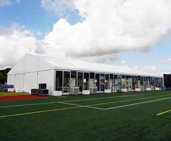 Opening Ceremony Marquee Tent Hall