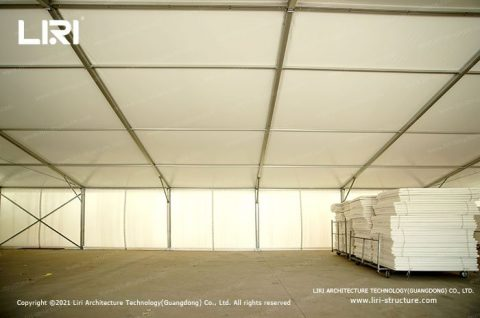 Temporary Warehouse Structures Construction