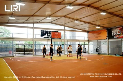 aluminum Structure Hall Indoor Basketball Court