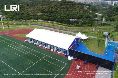 tents for grand opening ceremony