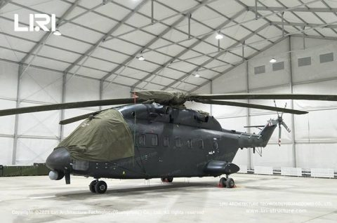 Aircraft Helicopter Hangar Construction For Sale