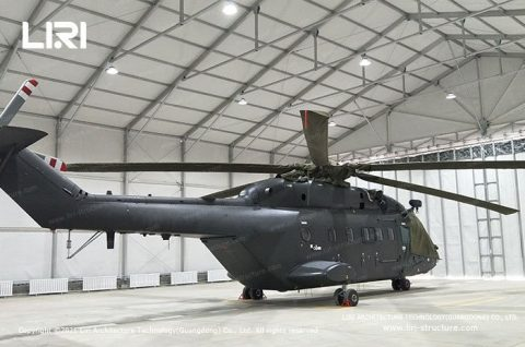 All Weather Structure Tents For Helicopter Hangars