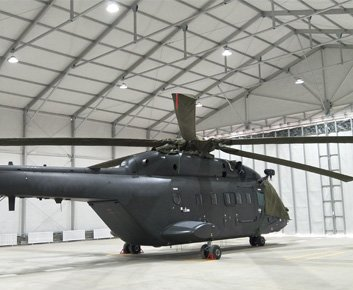 Helicopter Hangar for Sale