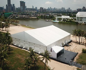 40 X 40 Frame Party Tent