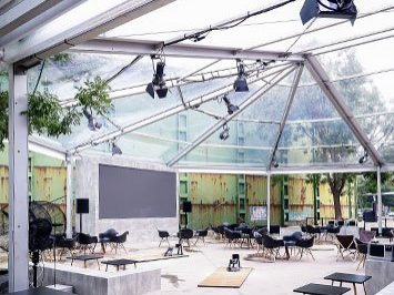 Clear Outdoor Event Tent
