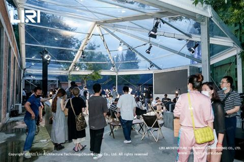 Clear Roof Canopy Event Tent