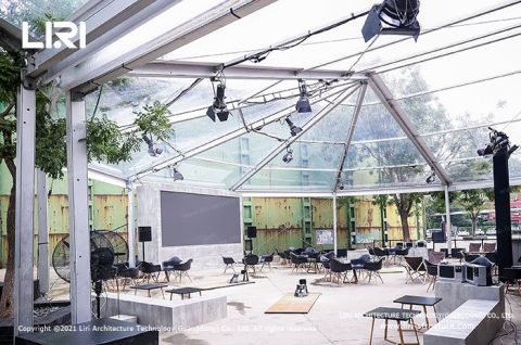 Clear Roof Marquee Transparent Event Tent