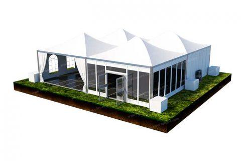 Modular Monoridge Tent