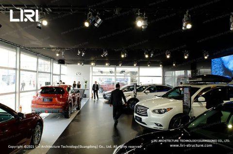 Temporary Car Showroom