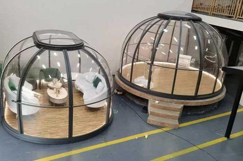 Luxury Clear Modular Dome House