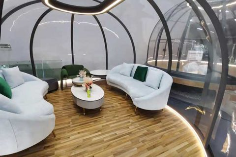 Outdoor Clear PC Dome House