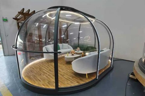 PC Transparent Dome House